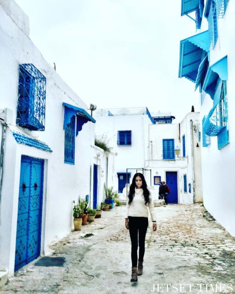 Tunis Tunisia Sidi Bou Said Wendy