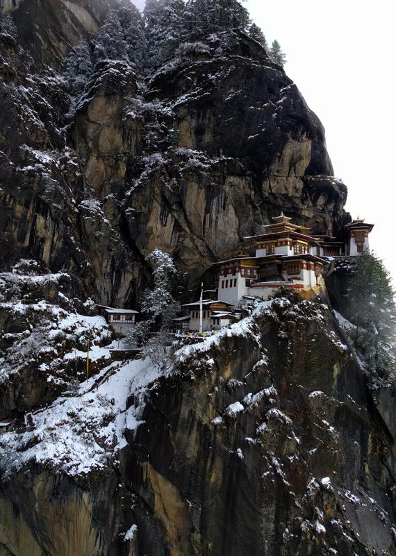Temple on Paro Taktsang