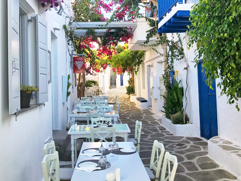 Top Restaurants in Paros