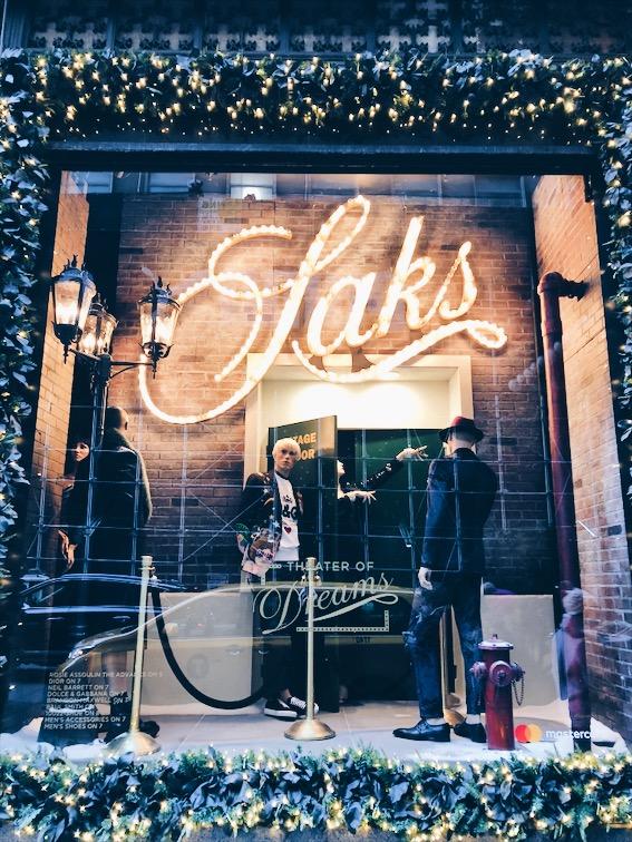 Saks Holiday Windows