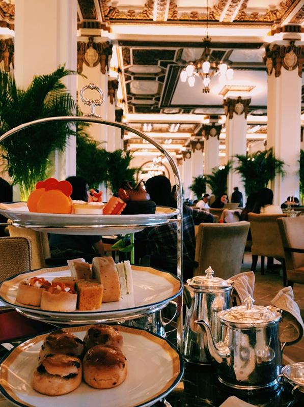 Afternoon Tea at The Peninsula.