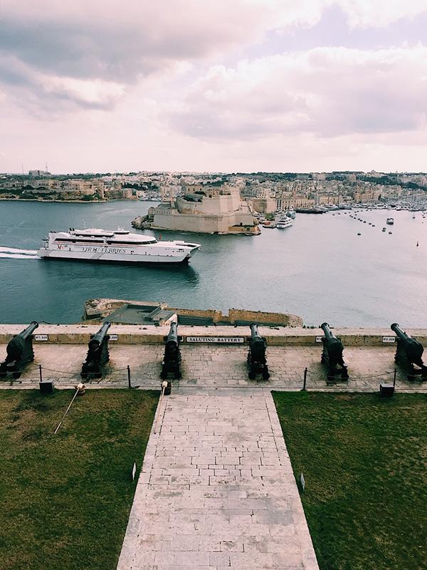 Barrakka gardens, Malta