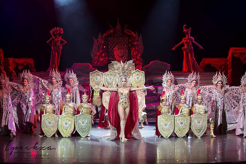 Show At Colosseum Pattaya.