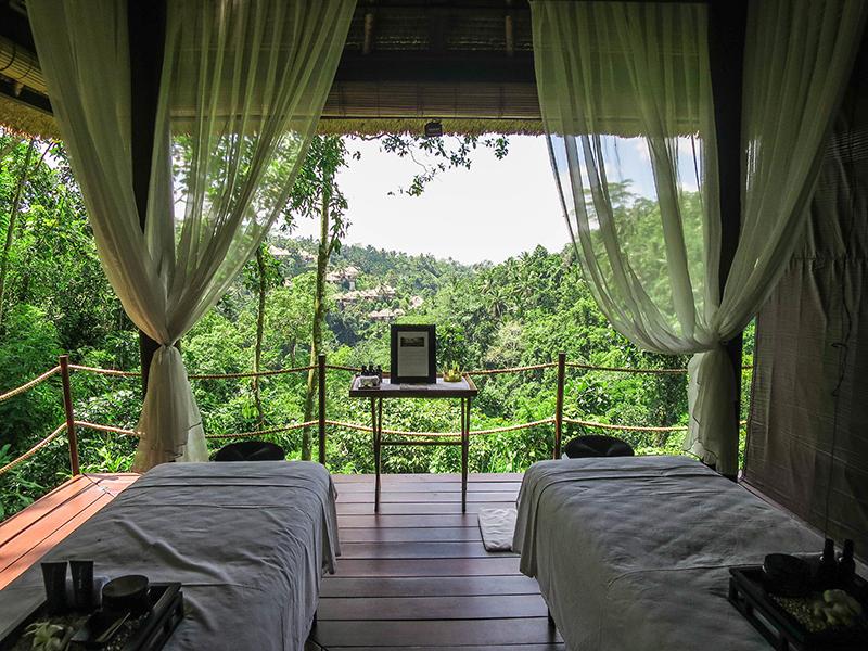 Rainforest Spa Experience Alila Ubud.