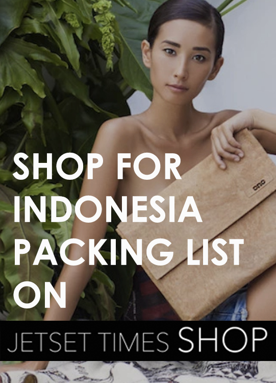 Indonesia packing list
