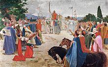 Croats settle in modern day Croatia.