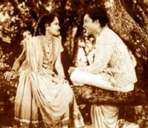 Melodrama and romance are common ingredients in Bollywood films, such as Achhut Kanya (1936).