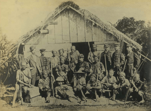Soldiers of the 1874 expedition in Taiwan