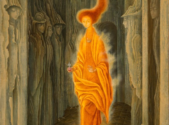 La llamada (The Call) by- Remedios Varo