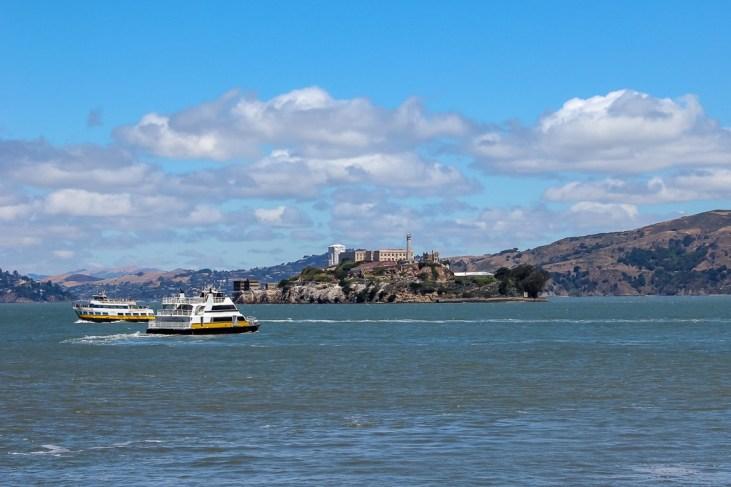 Alcatraz Island on San Francisco Bay, USA