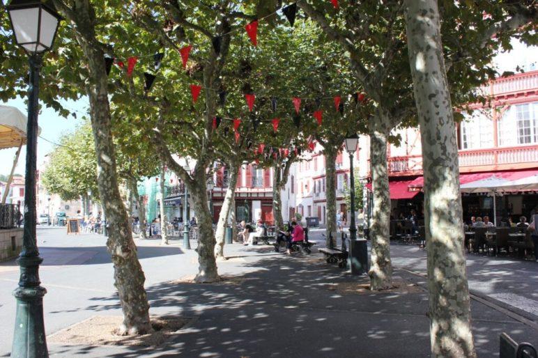 Square in St. Jean de Luz, France