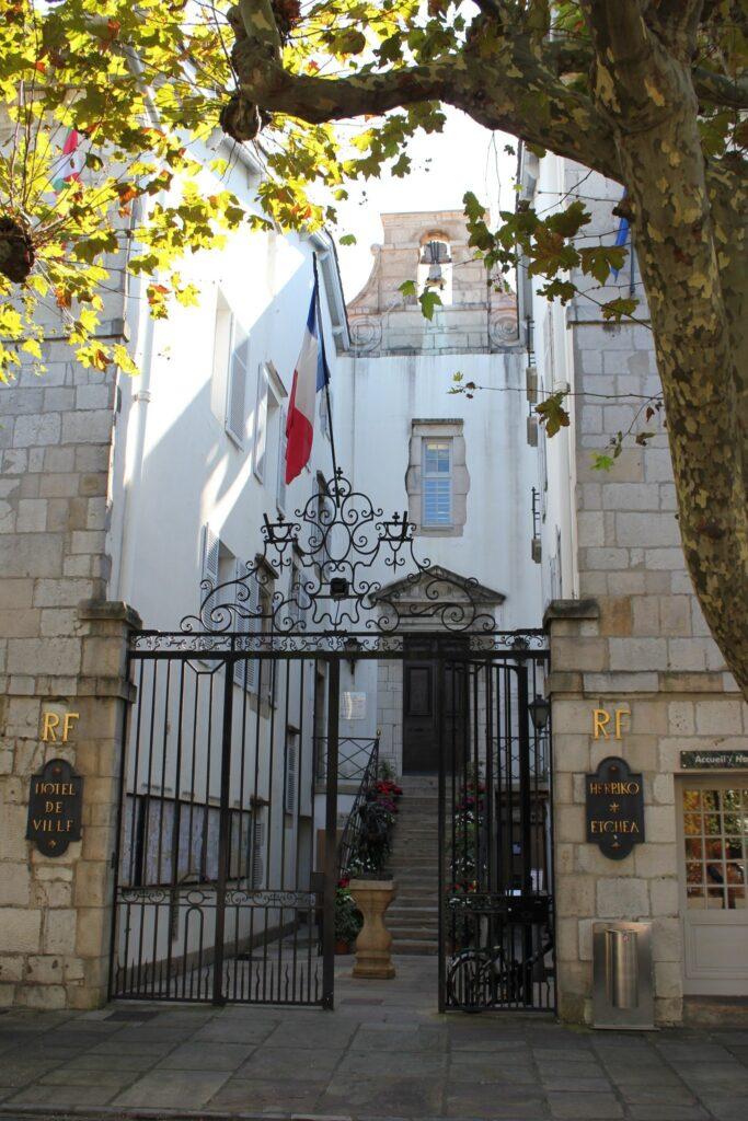 Town Hall in St. Jean de Luz, France