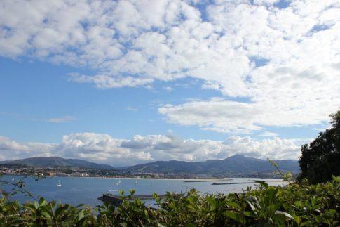 Views of the Atlantic Coastline from Hondarribia, Spain