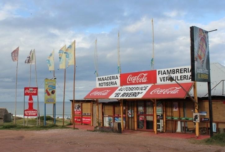 Mini-Market in Punta del Diablo, Uruguay