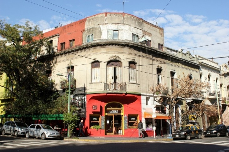 Palermo neighborhood in Buenos Aires, Argentina