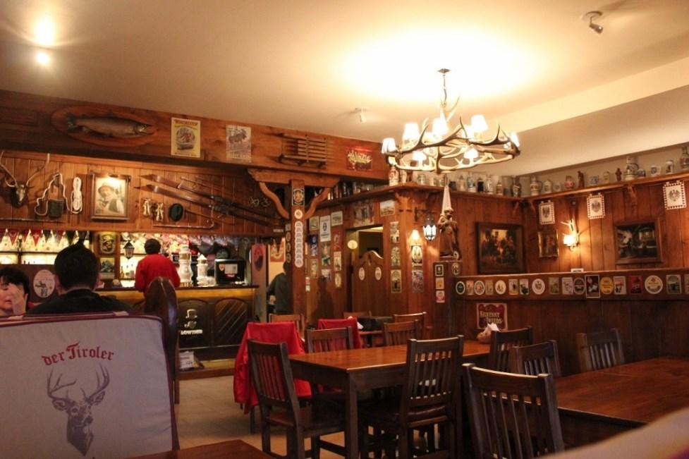Der Tiroler Craft Beer Bar in Bariloche, Argentina