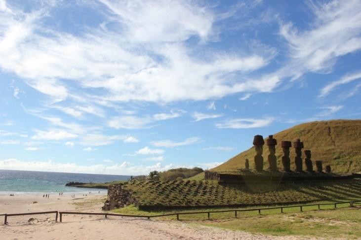 Anakena in Easter Island