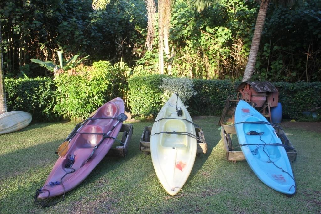 Kayaks on Moorea French Polynesia