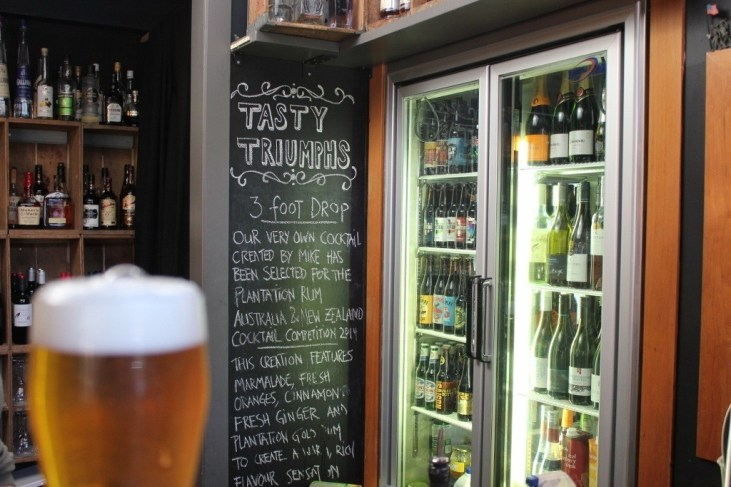 Tiny Triumphs craft beer bar in Devonport, NZ