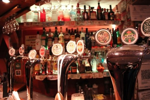 Manush Craft Beer Taps in Bariloche, Argentina