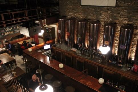 Antares casks of craft beer in Bariloche, Argentina