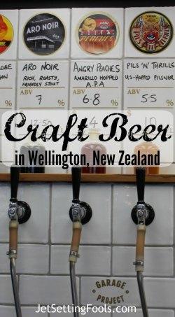 Craft Beer in Wellington, New Zealand JetSetting Fools