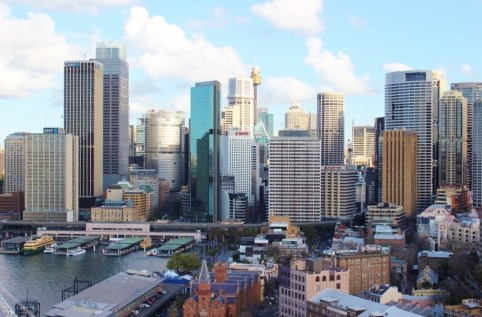 Circular Quay and The Rocks in Sydney, Australia