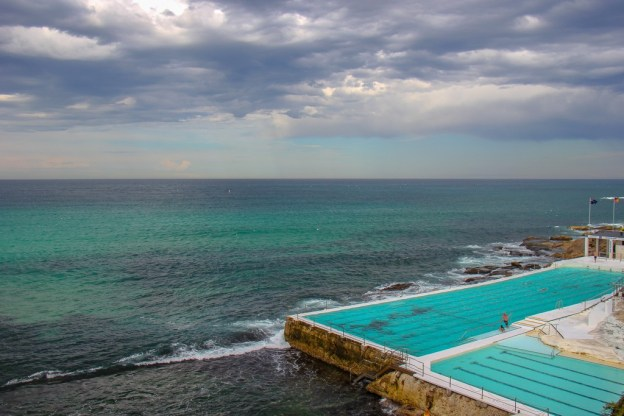 Icebergs ocean pool at Bondi Beach in Sydney, Australia