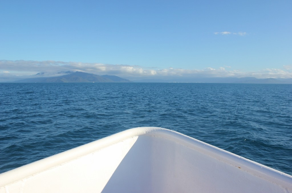 Great Barrier Reef Tour Boat, Cairns, Australia