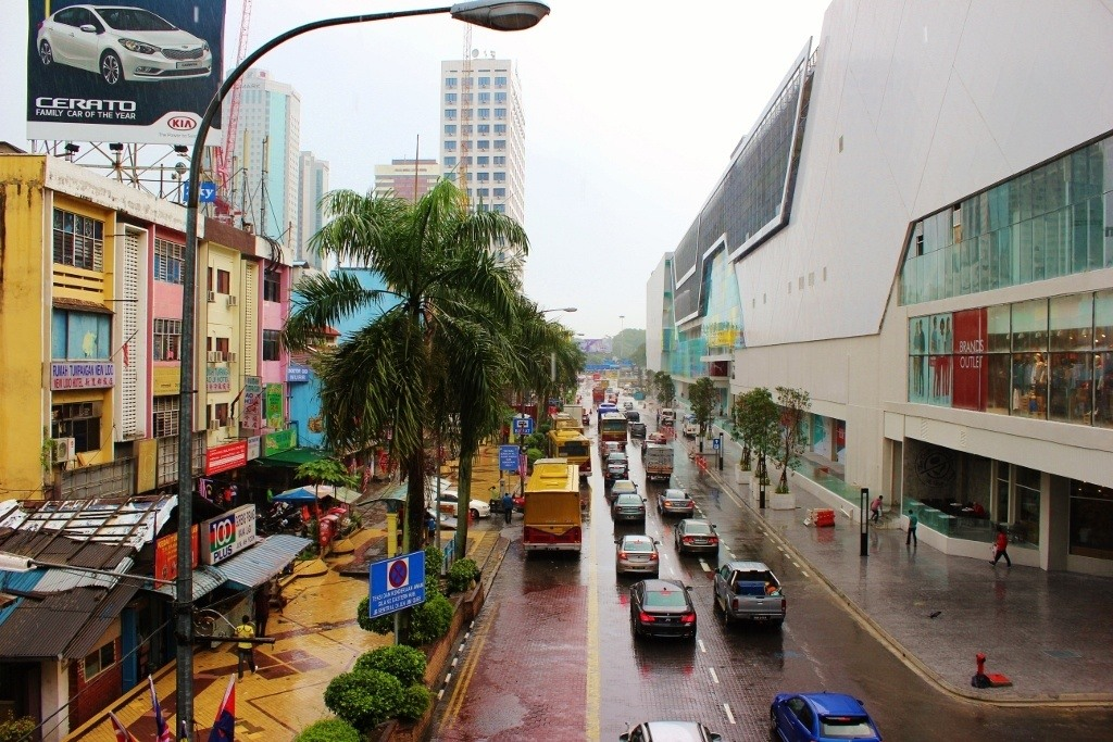 Mall in Johor Bahru, Malaysia