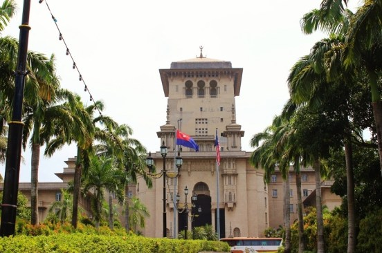 The Historic Sultan Ibrahim Building in Johor Bahru, Malaysia