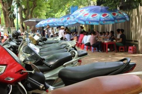 Street in French Quarter, Hanoi, Vietnam