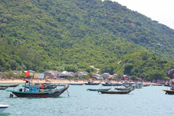 Habor at Cham Islands, Vietnam