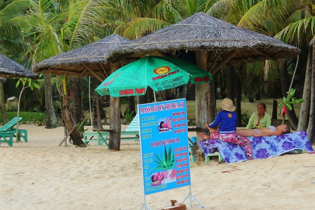 Phu Quoc Vietnam Beach Massage