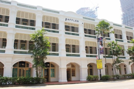Historic Raffles Hotel in Singapore