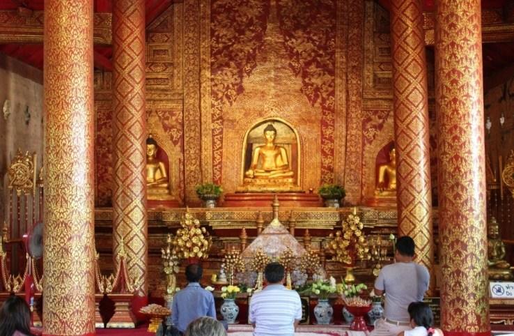 Wat Phra Singh Temple in Chiang Mai