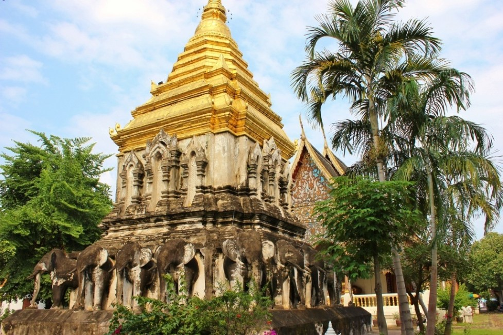 Wat Chiang Man, one of the Temples in Chiang Mai, Thailand JetSetting Fools