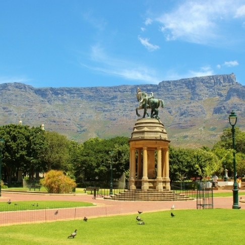 The Company's Gardens in Cape Town, South Africa