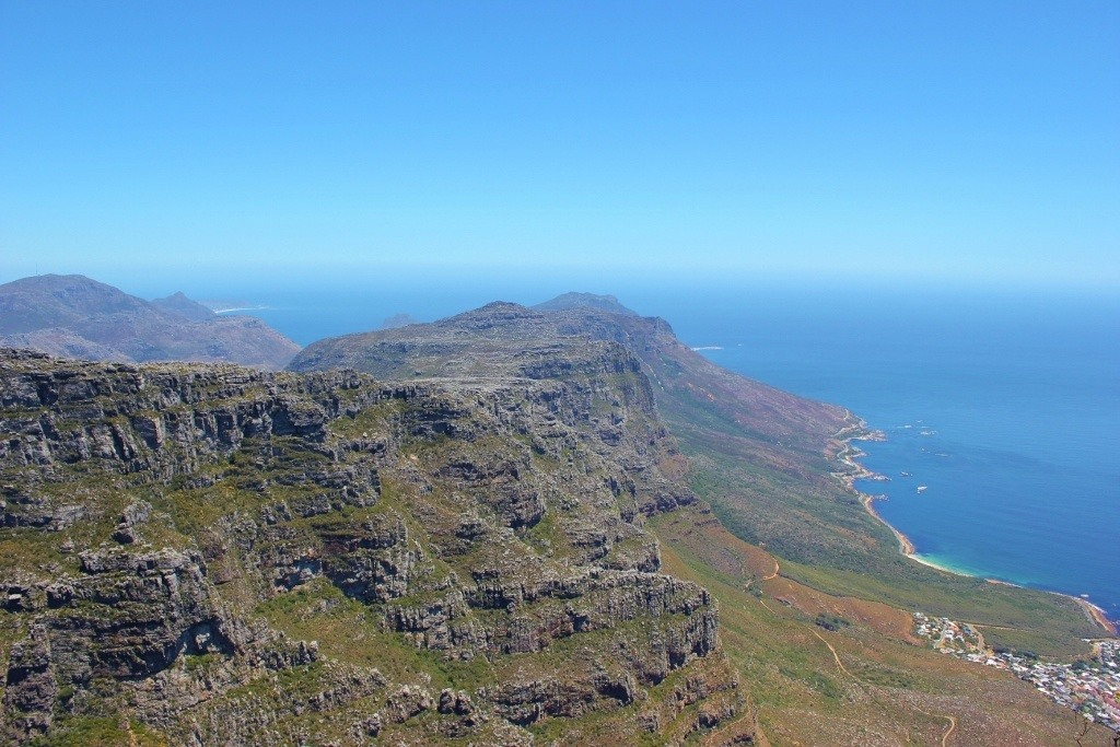 View of 12 Apostles Mountain, Cape Town, South Africa