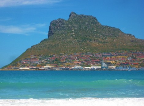 Hout Bay Beach in Hout Bay, Cape Town, South Africa
