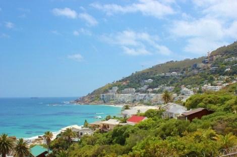 Cape Town Beaches on western coast