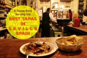 5 Tapas Bars Serving the Best Tapas in Seville, Spain by JetSettingFools.com