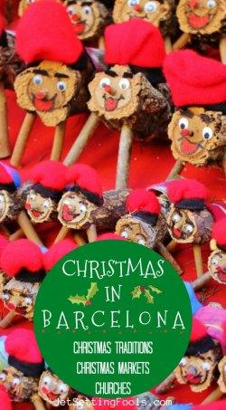 Christmas in Barcelona Traditiona Markets Churches by JetSettingFools.com