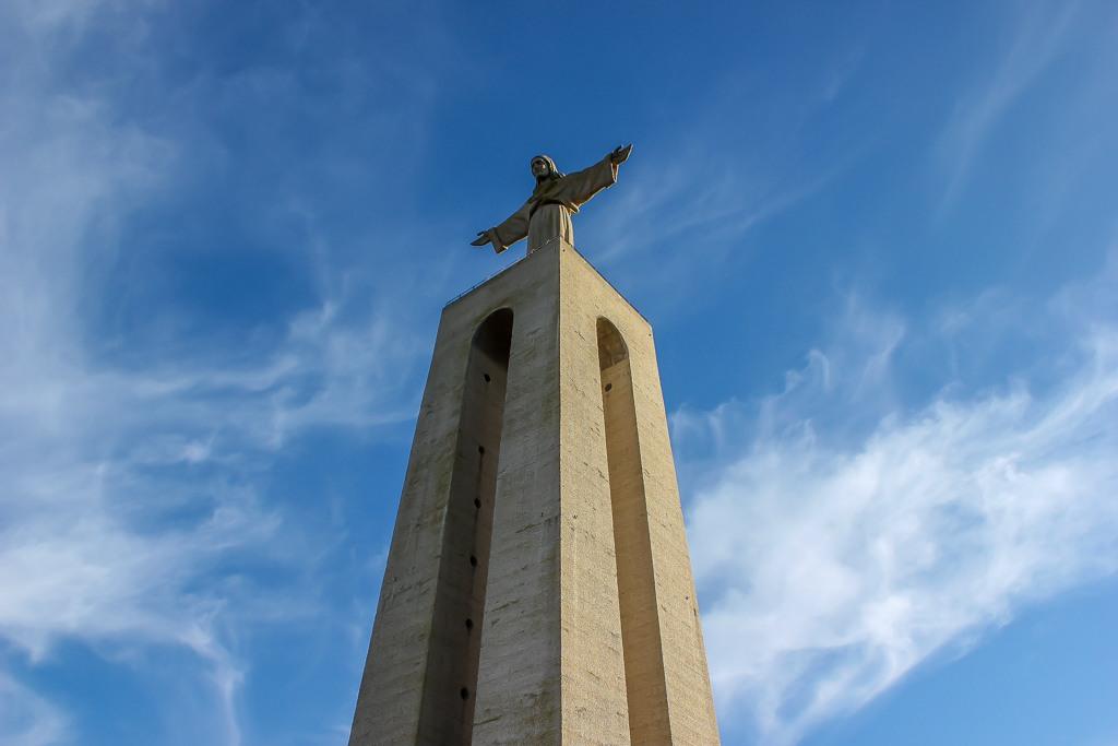 Christ Statue Cristo Rei in Lisbon, Portugal