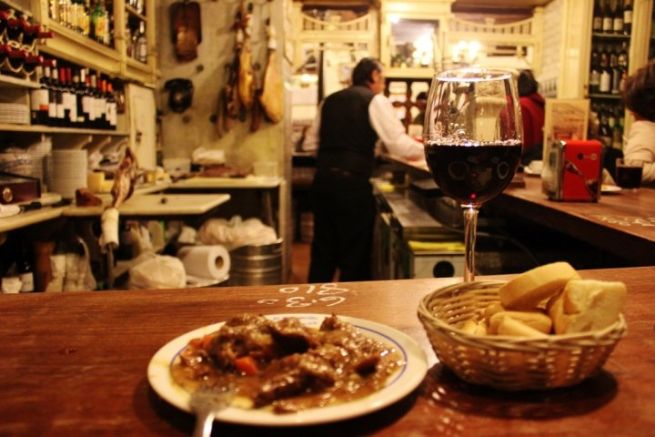 Tapas at El Rinconcillo Sevilla, the best tapas bar in Seville, Spain