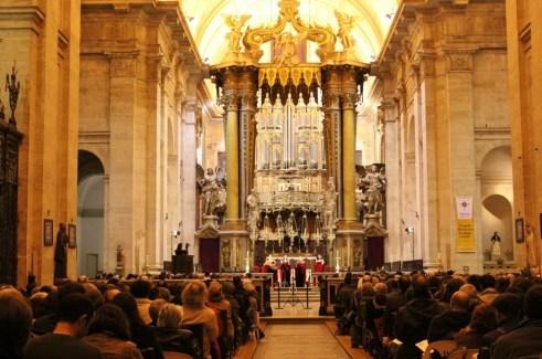 Christmas Concert at Sao Vicente de Fora in Lisbon, Portugal