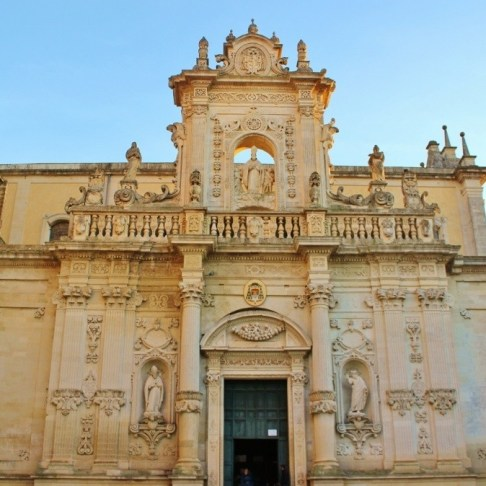 Duomo Cathedral in Lecce, Italy
