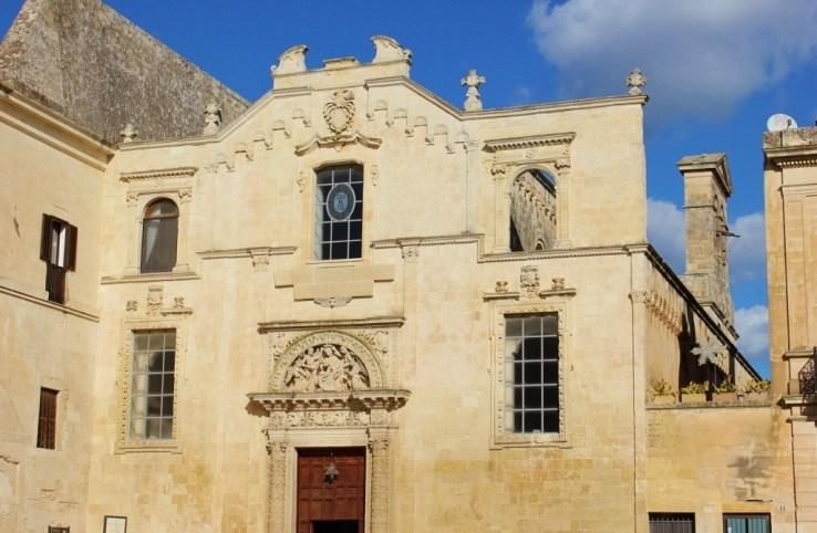Chiesa di Santa Maria Degli Angeli church in Lecce, Italy