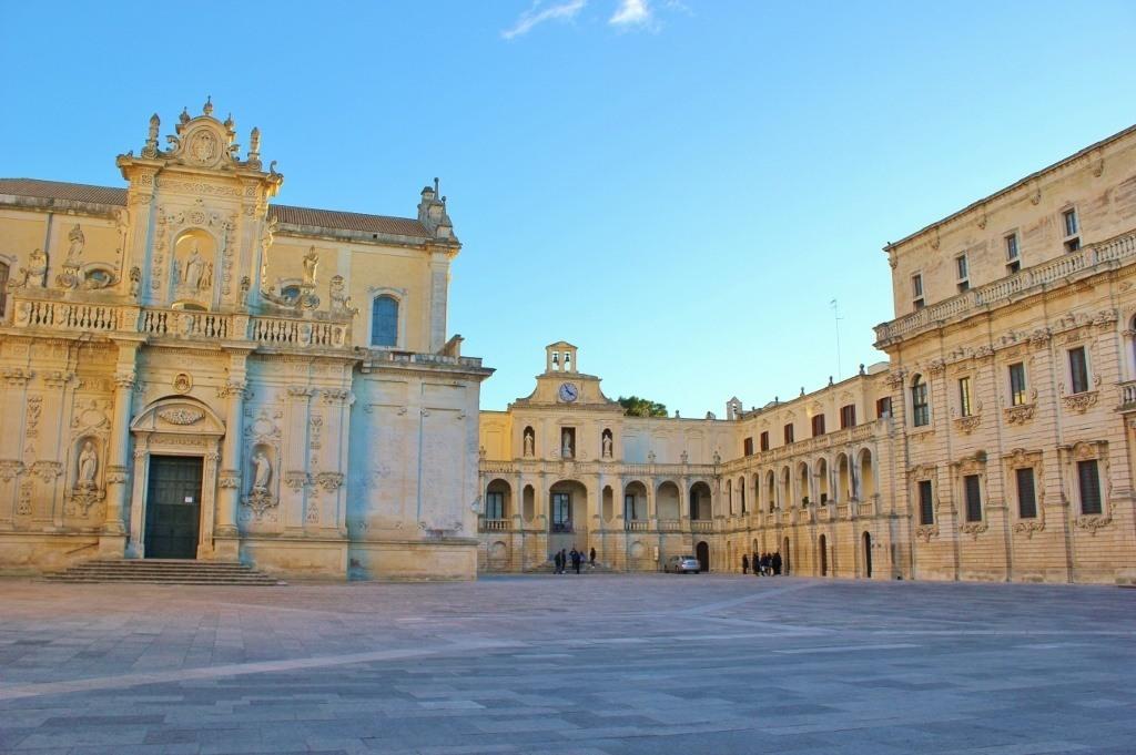 Piazza del Duomo in Lecce, Italy: The Duomo Square