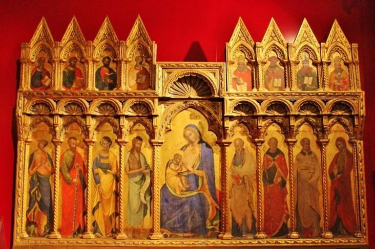 Artwork at Museo Provincial Sigismondo Castromediano in Lecce, Italy